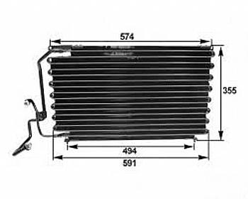 peugeot-405-klima-radyatoru